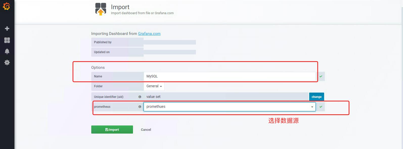 使用mysqld_exporter监控MySQL并展示数据