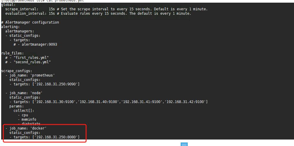 使用Cadvisor监控容器并展示数据